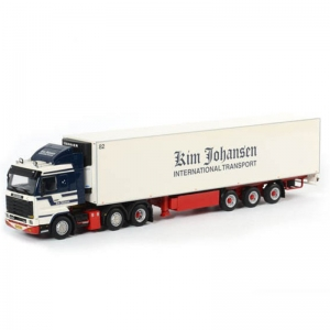 Scania 143 Streamline With Carrier Reefer Trailer Kim Johansen