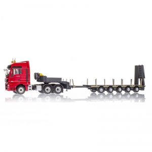 MAN TGX XXL Euro 6 5-Axle With DOLL Low Loader