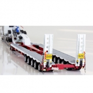Kenworth C509 5*8 Swingwing With 2*8 Dolly White And Red