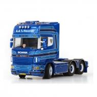 Scania R Topline With Curtainside Trailer AA Van Den Heuvel